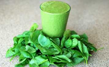 organic green smoothie