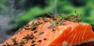 Salmon the perfect food for exercising
