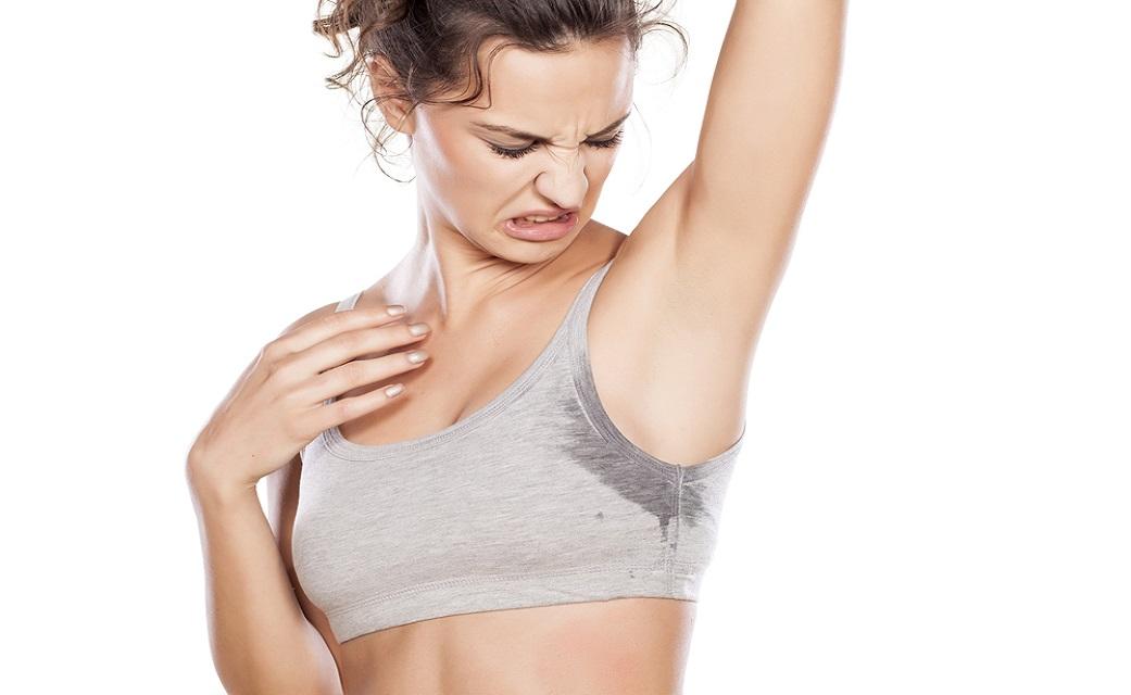 get rid of sweaty armpits