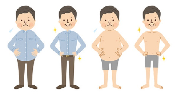 How to lose abdominal fat for men