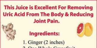 uric acid and joint pain - recipe