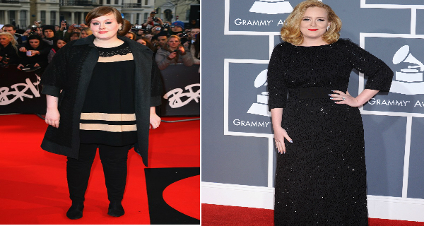 Adele lost weight