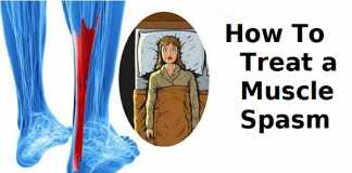 How to treat a muscle spasm