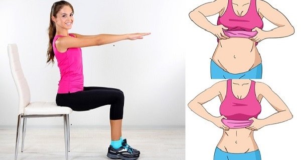 exercises to do at your desk for abs