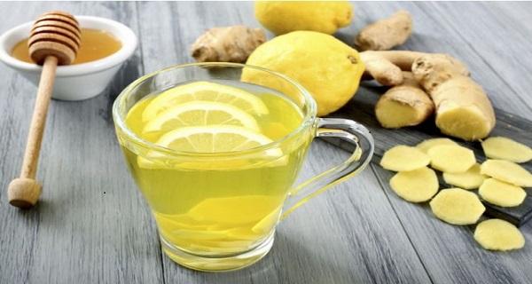 lemon ginger water for weight loss