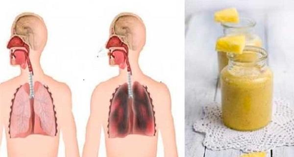 Lung flush procedure