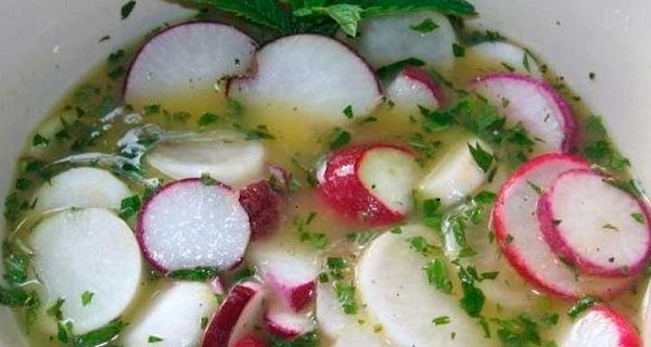 what are the health benefits of radishes