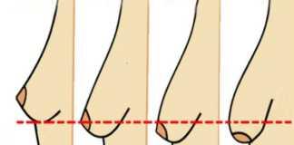 perfect teardrop breasts