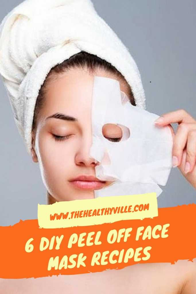 Try one of these 6 diy peel off face mask recipes share this post solutioingenieria Choice Image
