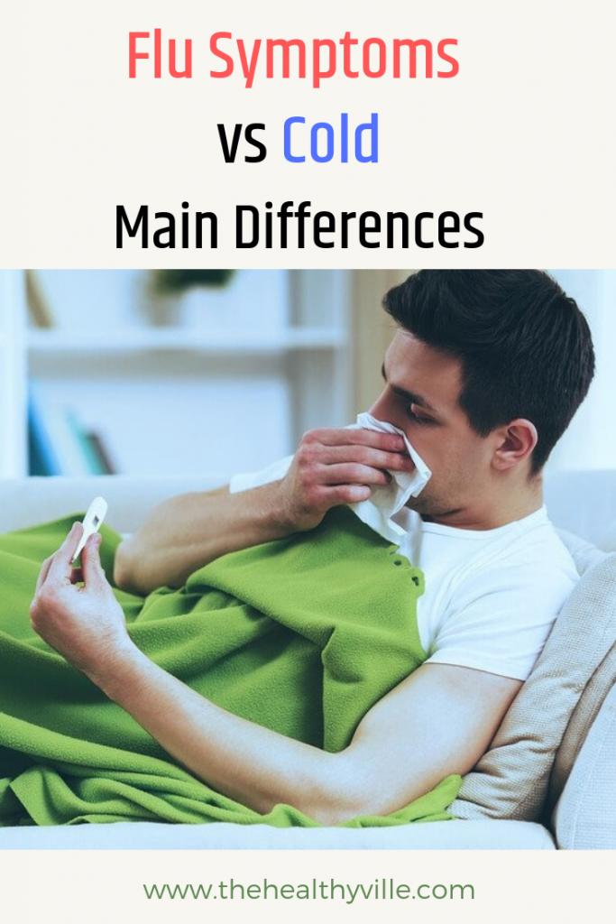 Flu Symptoms vs Cold - Main Differences