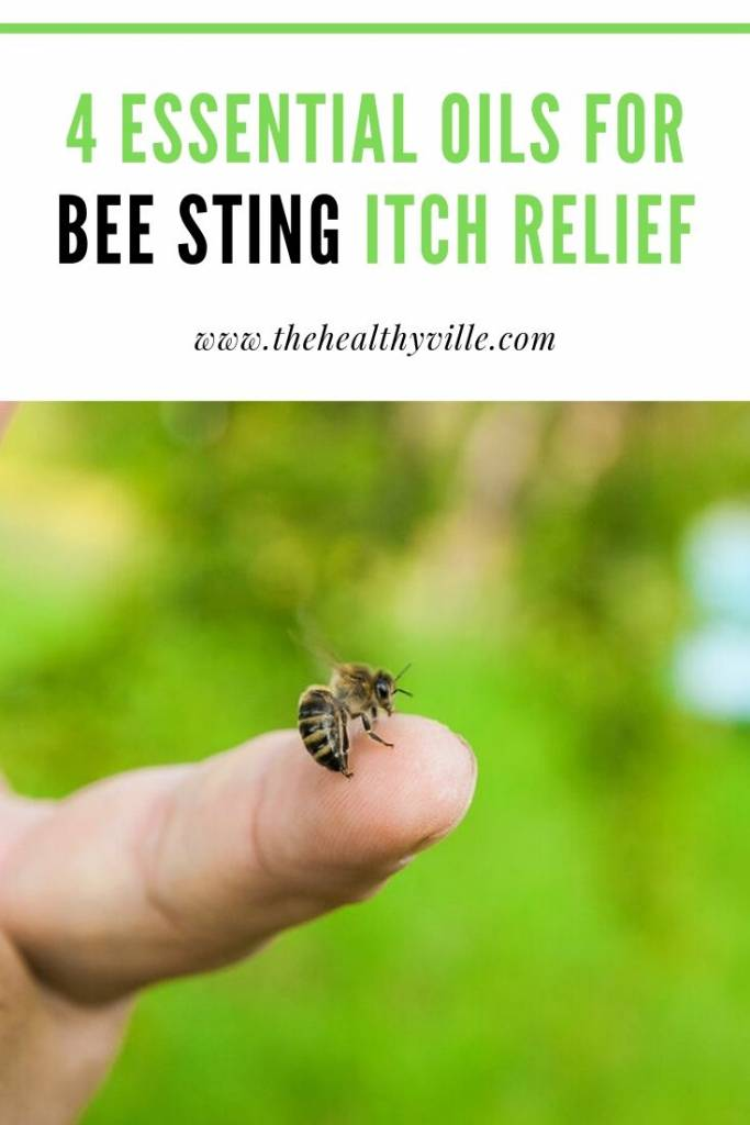 4 Essential Oils for Bee Sting Itch Relief
