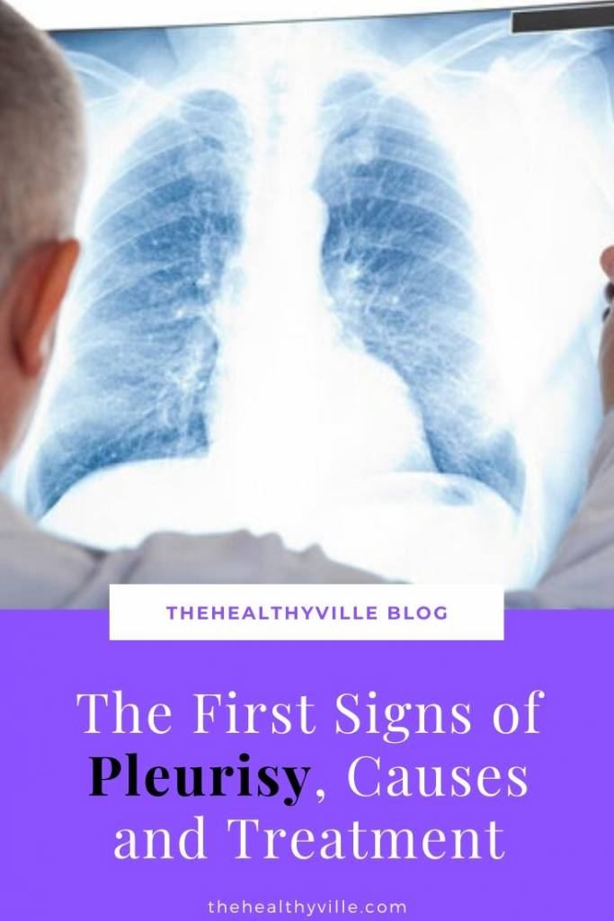 The First Signs of Pleurisy, Causes and Treatment