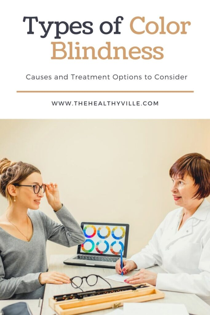 Types of Color Blindness – Causes and Treatment Options to Consider
