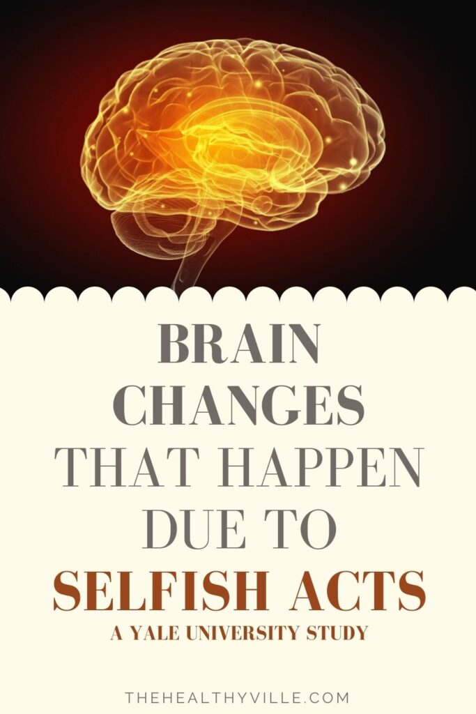Brain Changes That Happen Due to Selfish Acts – A Yale University Study